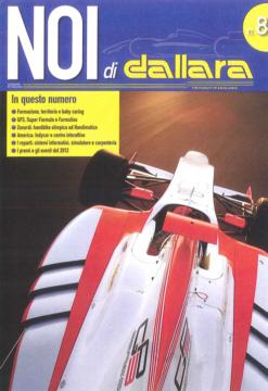 copertina del magazine Dallara