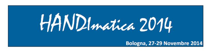 Handimatica 2014 - logo con date