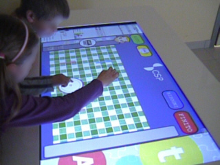 Touch Screen per bimbi autistici