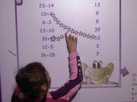 studio della matematica con la LIM