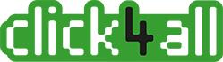 logo del progetto Click4all