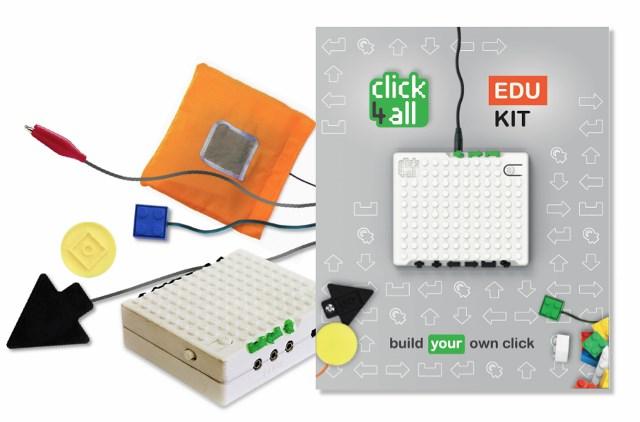 """immagine associata a Click4all Educational Kit:  offerta formativa per le scuole – """"La tastiera che non ti aspetti"""""""