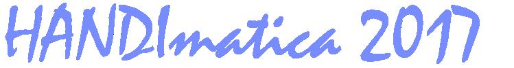 Handimatica 2017 - logo con date